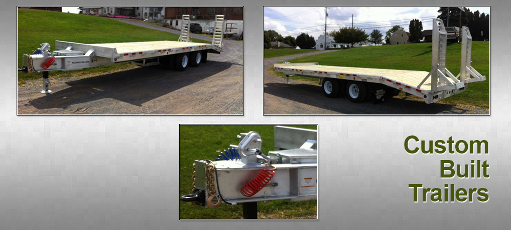 Custom Aluminum Trailer Fabrication & Sales